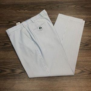 Brooks Brothers Blue & White Stripe Pants 36x30